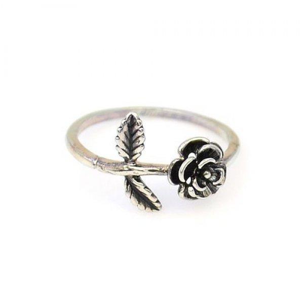 Inel argint trandafir Garden