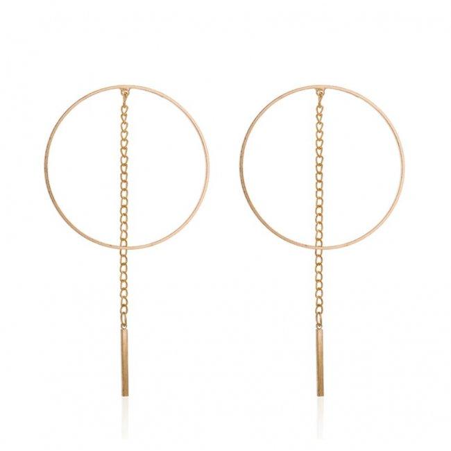 Cercei femei fashion free Simplisity Gold