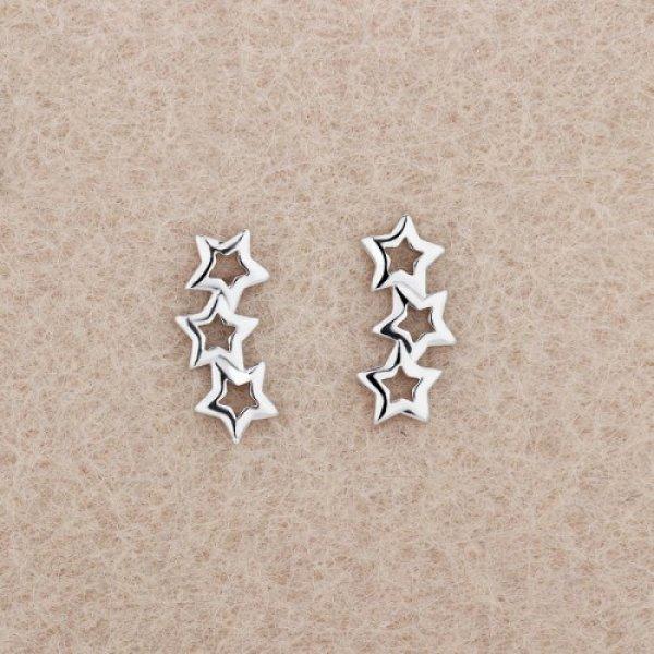 Cercei argint Starchild