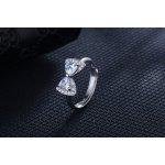Inel de logodna argint by Kelan model fundita cu elemente swarovski