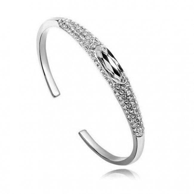 Bratara argint cu elemente SW Austrian Luxury
