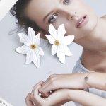 Cercei fashion floarea iubirea verii