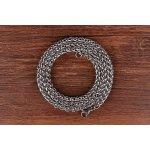 Lant otel inox Titanium Steel 60 cm  4 mm