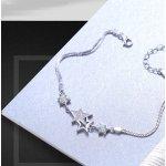 Bratara argint cu elemente SW  Duble Stars