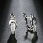 Cercei argint cu elemente  SW Speranta