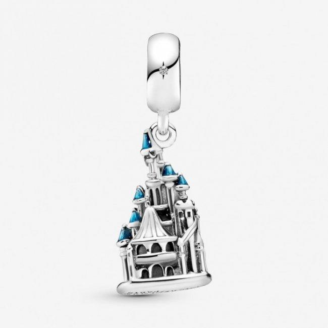 Charm Talisman argint Disney Castel Paris