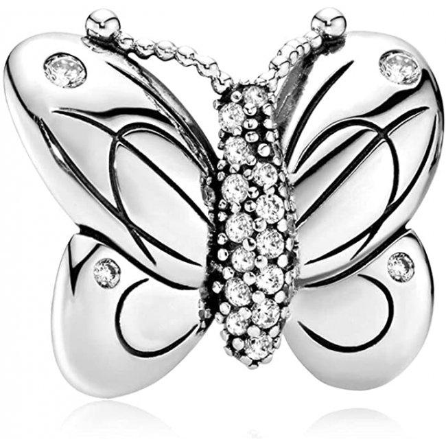 Charm pentru Pandora talisman argint Butterfly