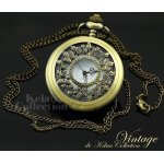 Vintage watch with necklace