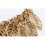 Colier Kelan Gold Leaf