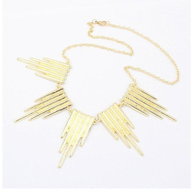 Kelan Piano Gold Necklace