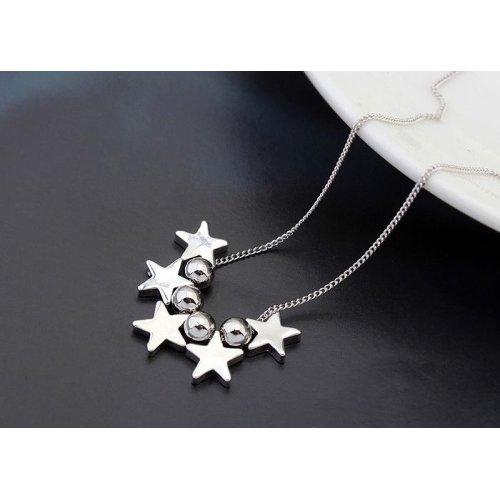 Colier Silver MoonStar