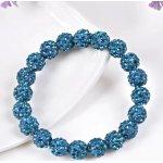 Swarovski Bracelet Shamballa Lake Blue