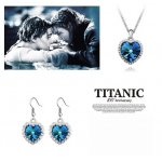 Set Swarovski Ocean Heart Titanic