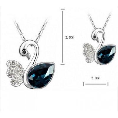 Colier Blue Swan