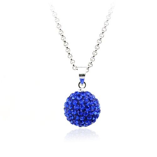 Colier Elemente Swarovski Azul