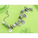 Pandora bracelet Tree of Life Emerald Green Heart