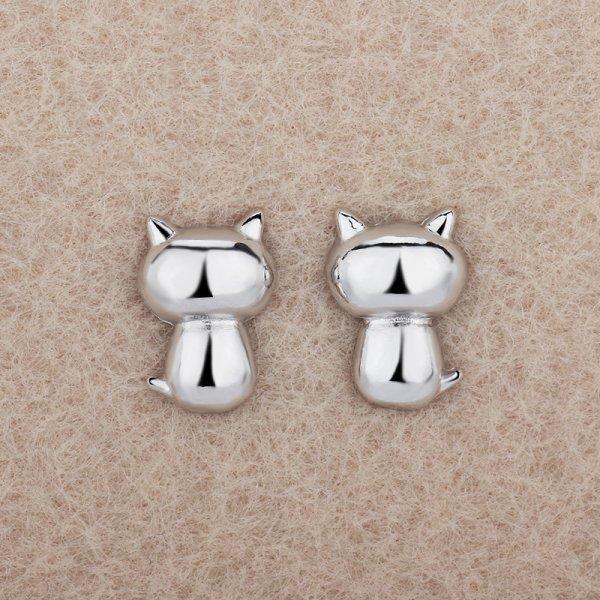 Cercei argint pisicute dragute Pisi S