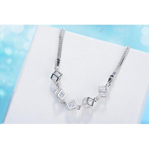 Bratara Argint Cubic Crystal cu Elemente Swarovski