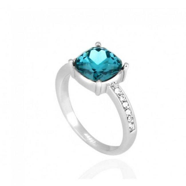 Blue Ocean Eternity women's silver ring