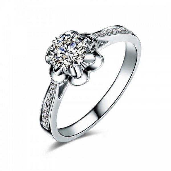 Inel din argint femei River Flower