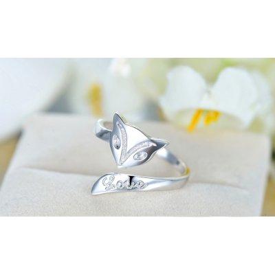 Inel argint Pisicuta Love