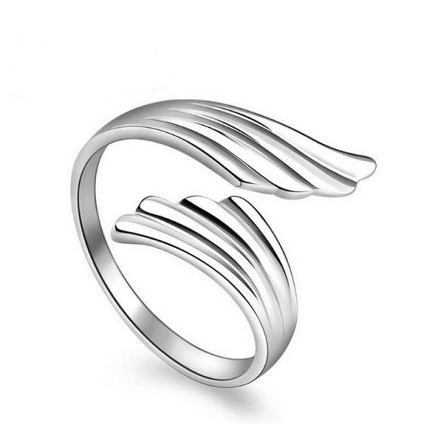 Inel argint Wings of Wind