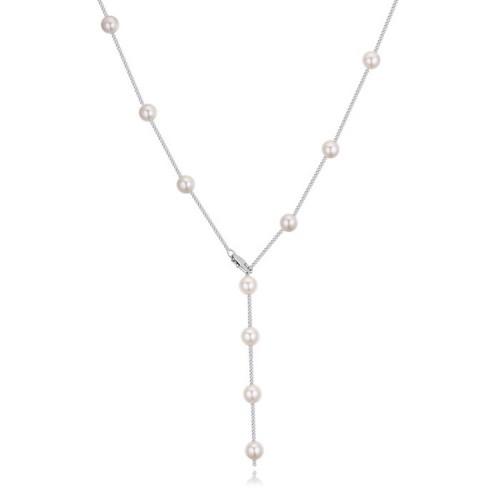 Lant argint femei cu pandantiv Perle
