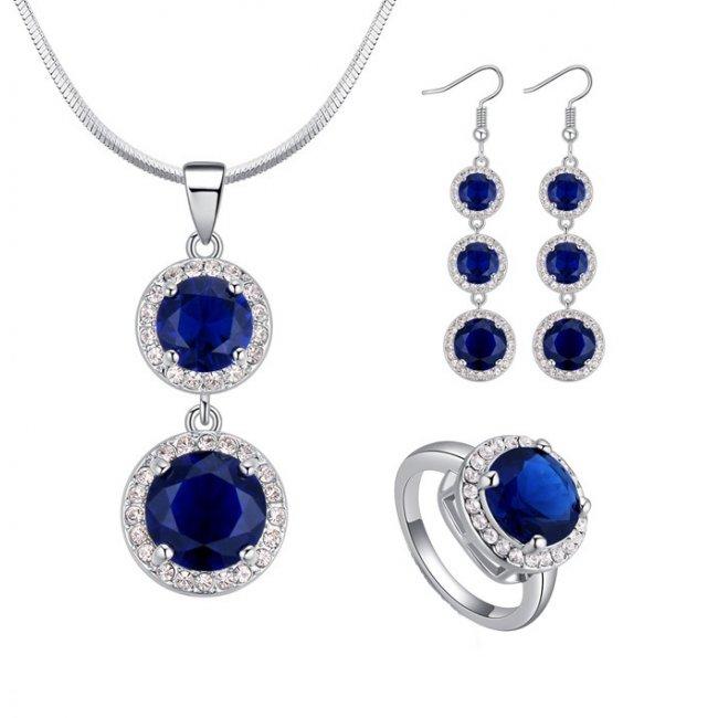 Amethyst Royal women's silver set