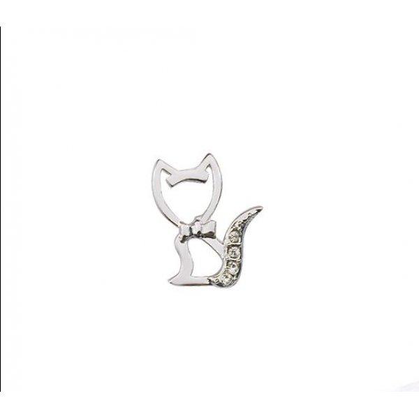 Cercei din argint pisica Kelan